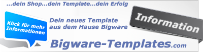 Templates für den Bigwareshop